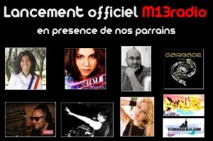 Lancement officiel M13Radio