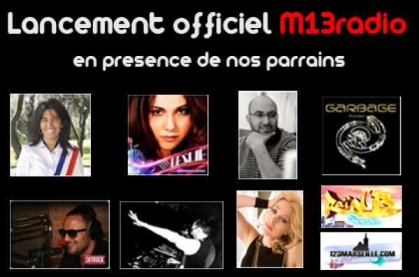 Lancement officiel M13Radio